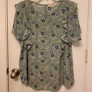 Loft blouse like new!